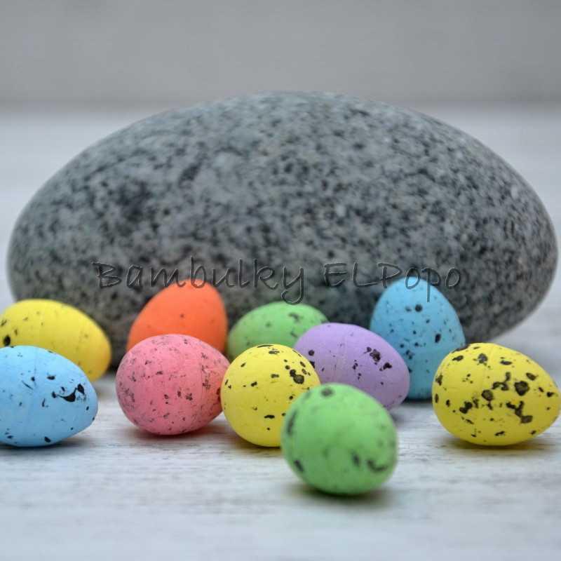 Polystyrenové vajíčko mix barev