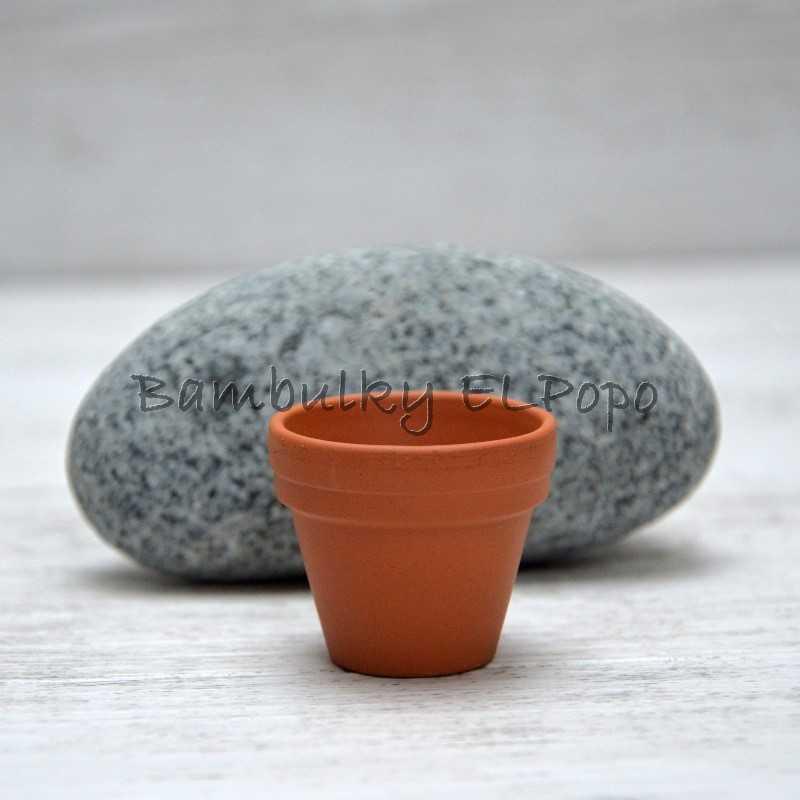 Květináč keramický malý