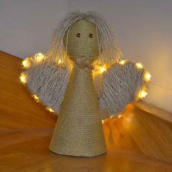 "Aplikace LED na dekoraci ""Anděl"""