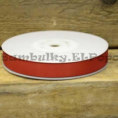 Červená stuha šíře 1,5cm - cena za 1m