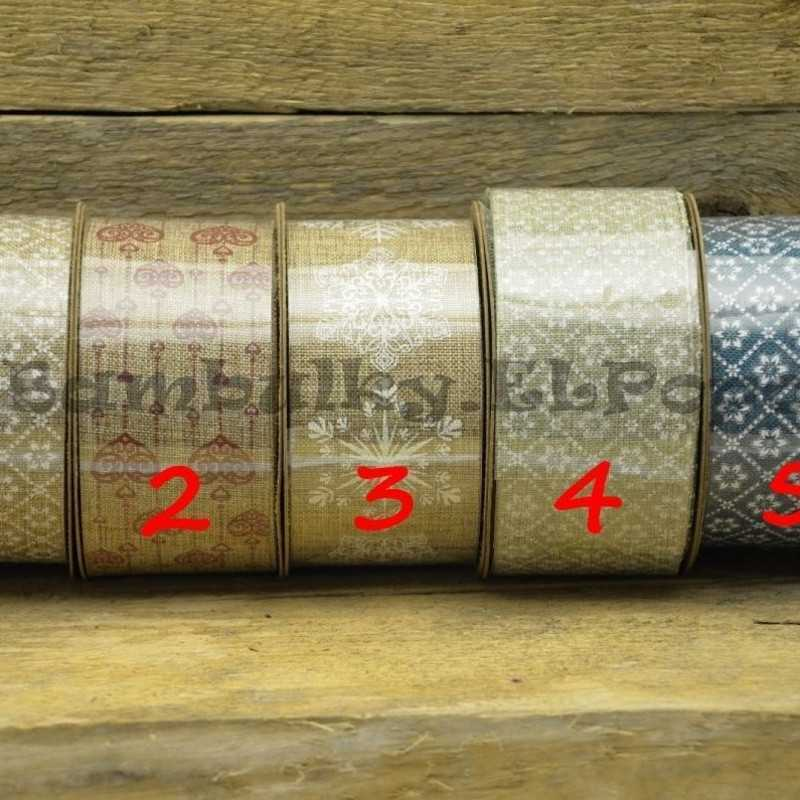 Dekorační stuha - cena za 1m (stuha č.4)