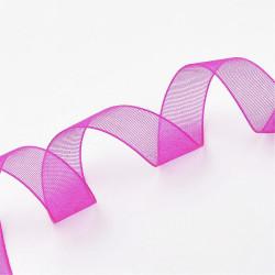 Organzová stuha 12mm růžová