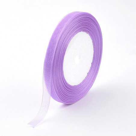 Organzová stuha 12mm lila