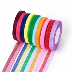 Organzová stuha 10mm fialová