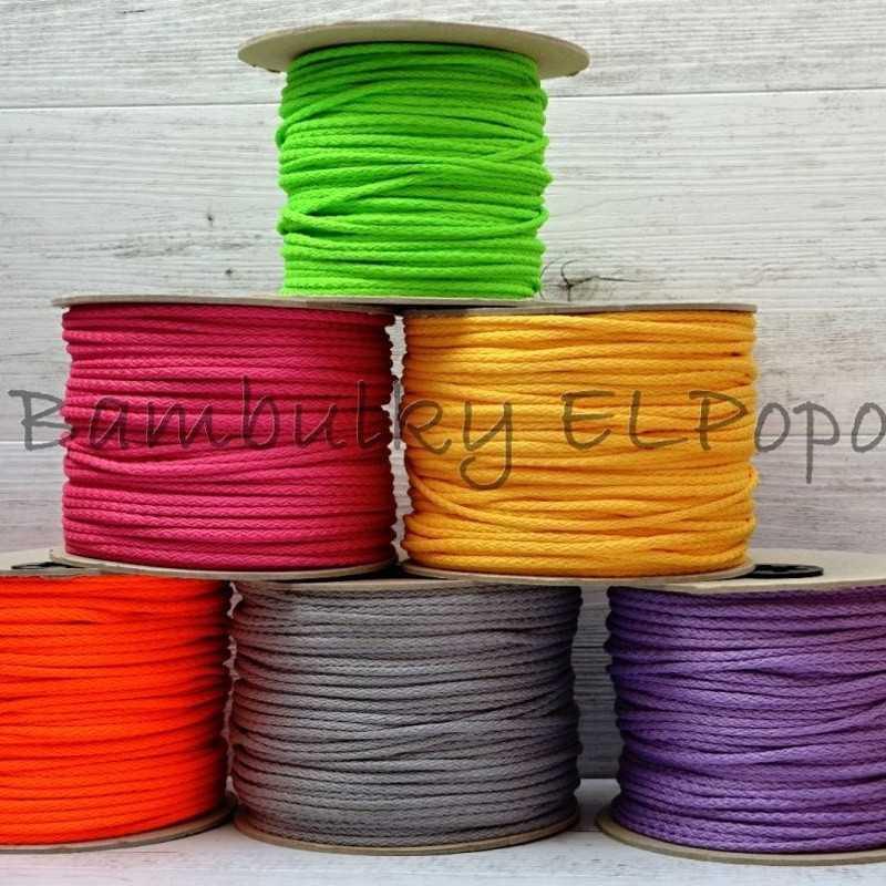 PES šňůra parmská fialka (baleno po 3m)