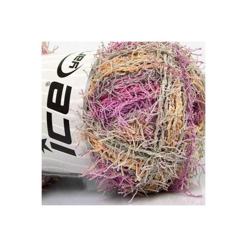 Scrubber Twist růžovo-lososová