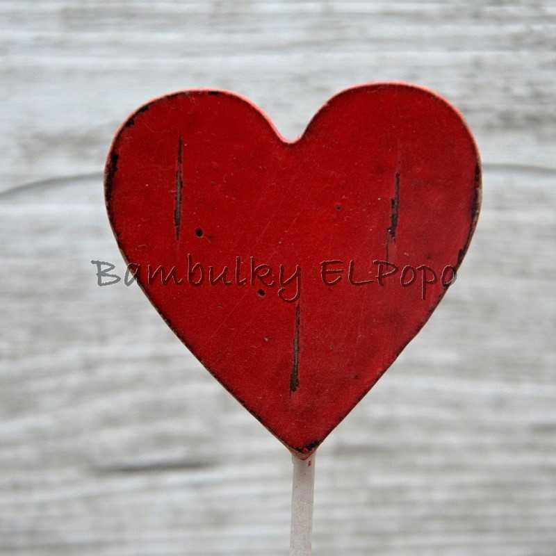 Zápich srdce velké č. 1