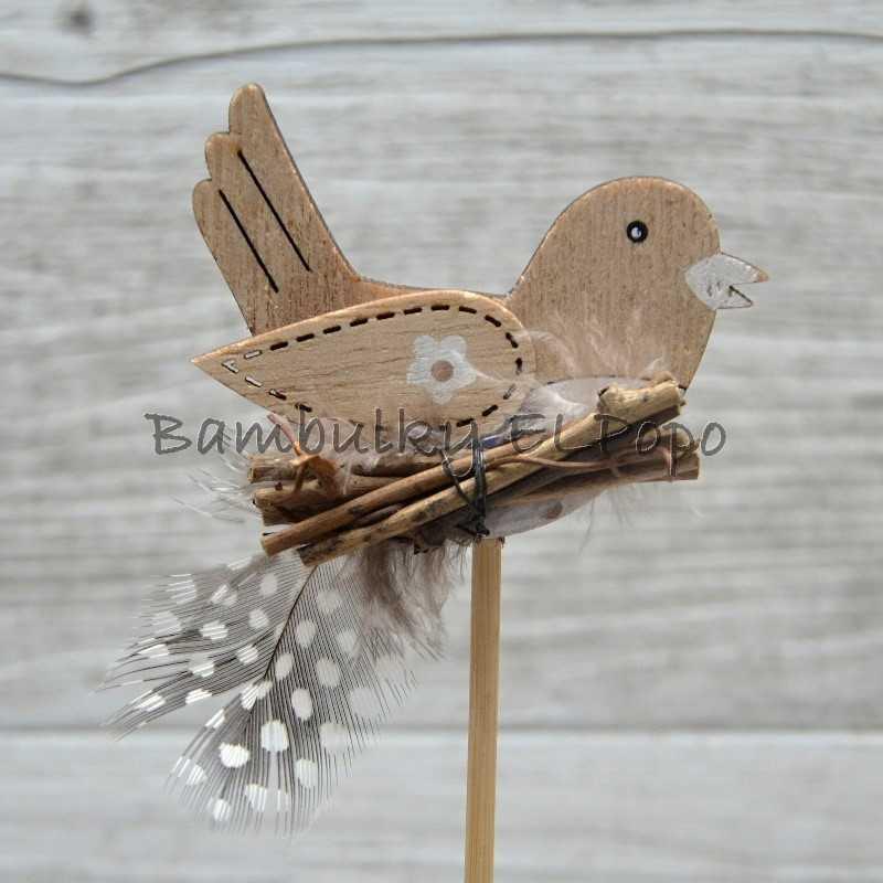 Zápich ptáček s otýpkou