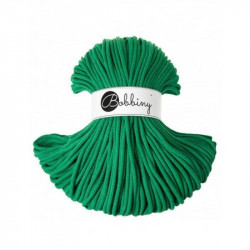 BOBBINY šňůry Premium  5mm sváteční zelená