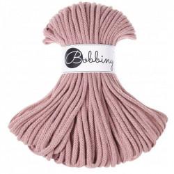 BOBBINY šňůry Premium  5mm blush ruměnková