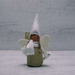 Andělka s čepičkou zlatá