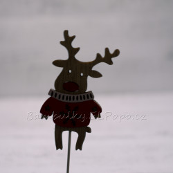 Vánoční sob zápich