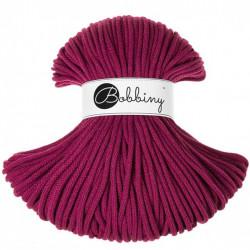BOBBINY šňůry Premium  5mm purpurová