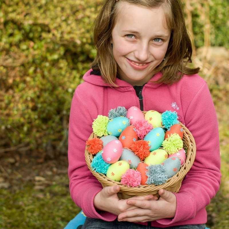 Sada na výrobu 15ti kusů velikonočních vajíček