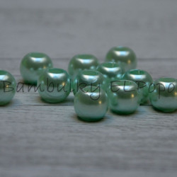 Perličkový korálek světle mentolový (cena za 1 kus)