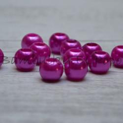 Perličkový korálek tmavě růžový (cena za 1 kus)