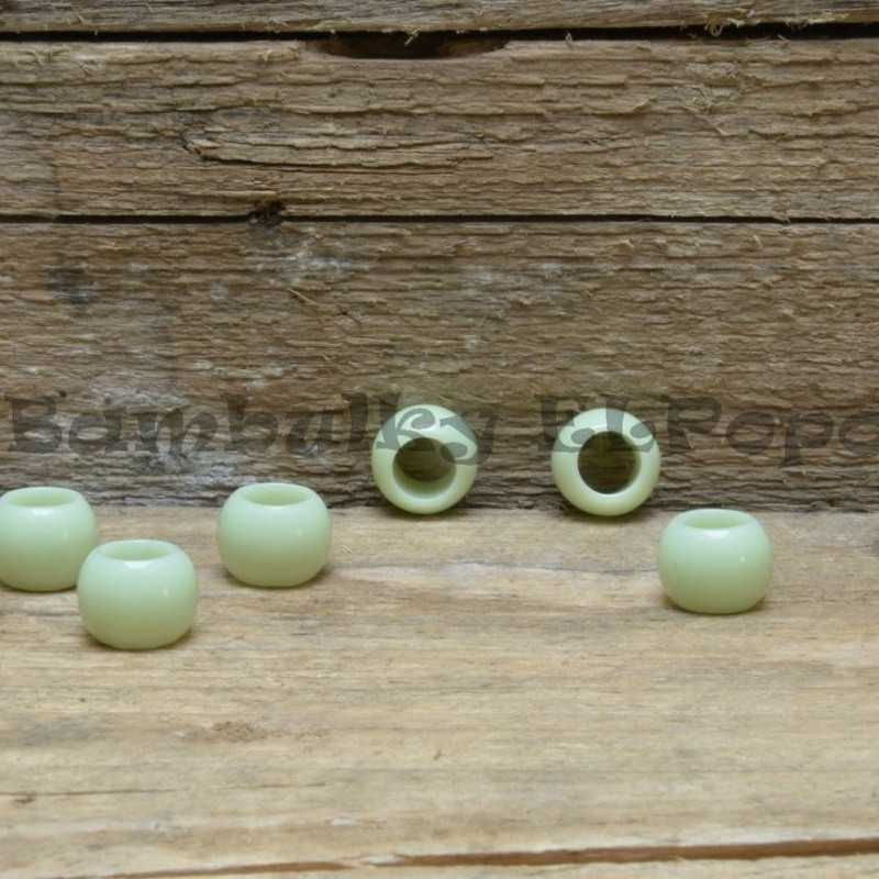 Matný korálek zelený (cena za 1 kus)