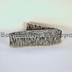 Černo-bílá stuha s drátkem (cena za 3m)
