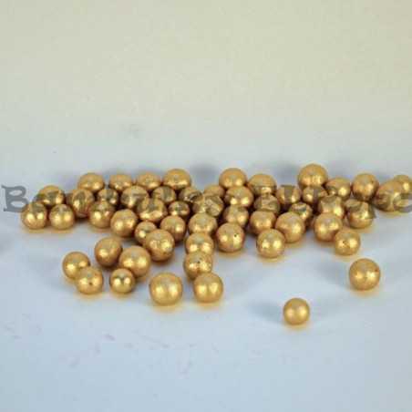 Dekorační polyst. kuličky zlaté