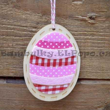 Dřevěná dekorace - vajíčko